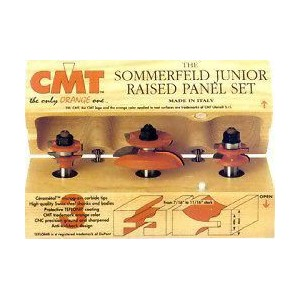 CMT Junior Raised Panel Router Bit Set 800518
