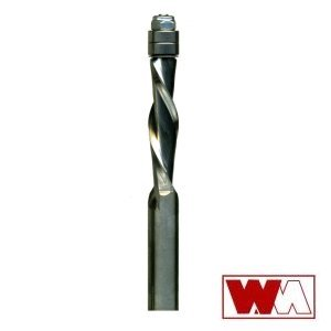 Whiteside 1/2 in. Solid Carbide Downcut Spiral Flush Trim Bit RFTD5200 105251