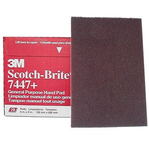 Scotch-Brite Coarse Hand Pad 196209C