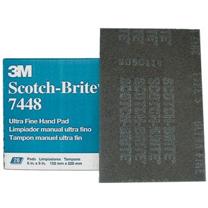 Scotch-Brite Medium Hand Pad 196202