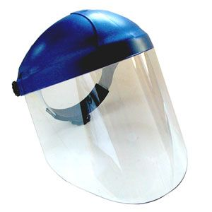 Deluxe Face Shield with Racheting Headgear 087009
