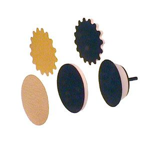 Wave Soft Innerface Pad - 3 inch Round 156254