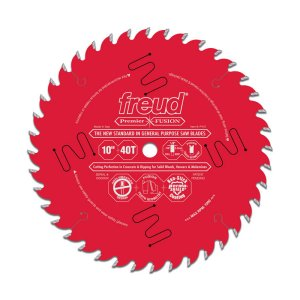 Freud 10 in. Premier Fusion General Purpose Blade P410 172014