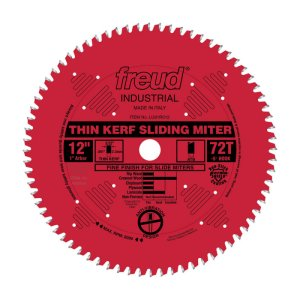 Freud 12 in. Thin Kerf Sliding Miter Blade LU91R012 172033