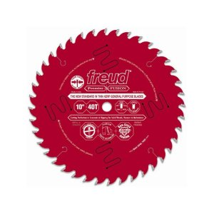 Freud 10in Thin Kerf Premier Fusion General Purpose Blade P410T 172038