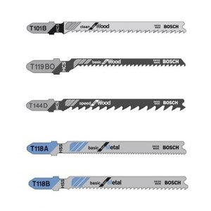 Bosch T500 Jigsaw Blade Assortment, Pack of 5