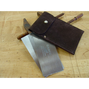 Leather Card Scraper Wallet 116404