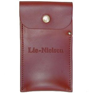 Lie-Nielsen Leather Scraper Case 134013