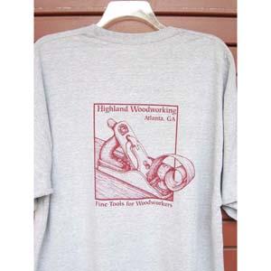 Highland Woodworking Gray Short Sleeve T-Shirt