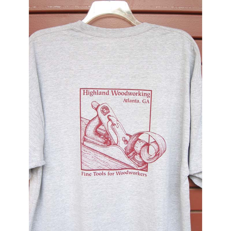 Highland Woodworking Gray Short Sleeve T-Shirt