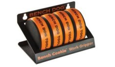 Bench Cookies, Pack of 4 with Storage Rack