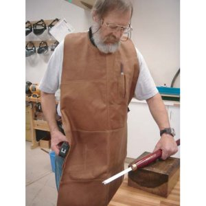 Leather Woodturner's Shop Apron 116410