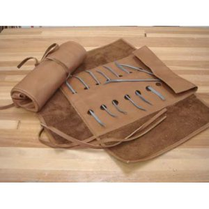 Leather Riffler Roll 116412
