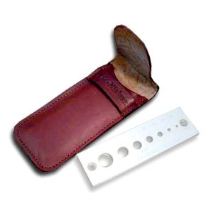 Leather Case for Lie-Nielsen Dowel Plate 134009