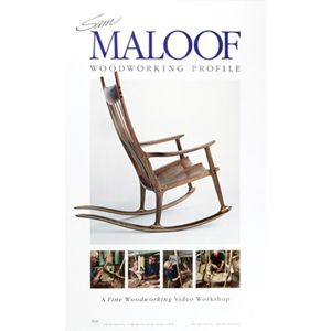 Sam Maloof Woodworking Profile Poster 204217