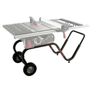 Sawstop contractor tablesaw mobile base jobsite cart 305017