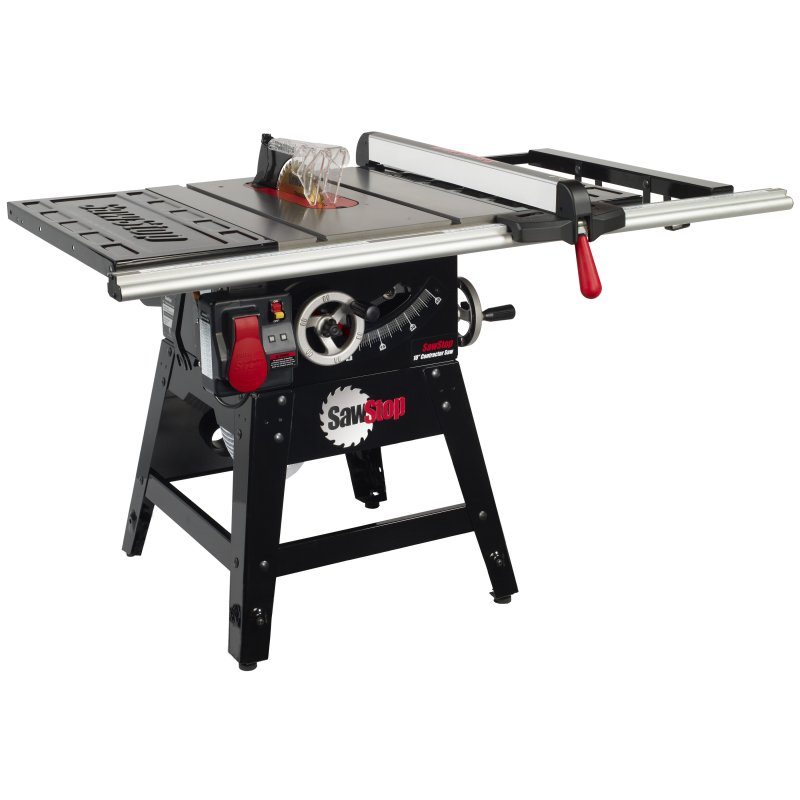 Sawstop contractor saw 10 inch contractor tablesaw for 10 table saws