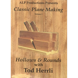 Classic Planemaking Volume 1: Hollows and Rounds  DVD 221608