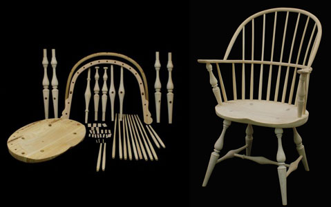 Permalink to Windsor Chair Kits