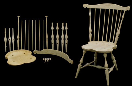Fanback Side Windsor Chair Kit  178003