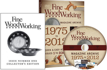 Fine Woodworking  Magazine Archive 1975-2012 DVD-ROM 220486
