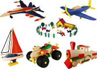 Woodman Toy Kits for Kids