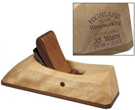 Highland 35th Anniversary Smoothing Plane 433201