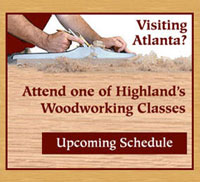 Highland Woodworking Classes