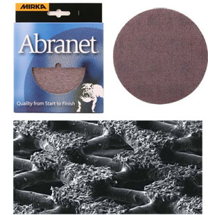 Abranet Mesh Sanding Disks for Woodturners