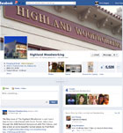 Highland Woodworking on Facebook