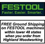 Free Festool shipping
