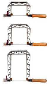 Knew Concepts Titanium Birdcage Fretsaws