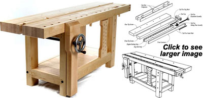 Roubo Workbench