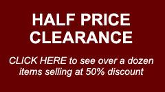 Half price clearance