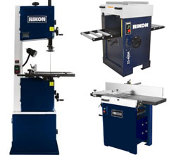 Rikon Bandsaws and Planers