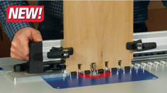 NEW Leigh RTJ400 Router Table Jig