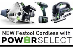 Festool Cordless PowerSelect Program