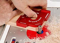 Woodpeckers OneTime Tool - Corner Radius Quick Jig