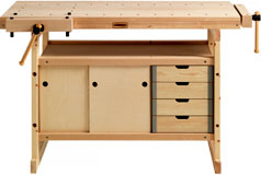 Sjobergs Hobby-Plus Workbench with Cabinet