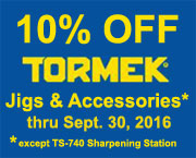 Tormek Accessory Sale
