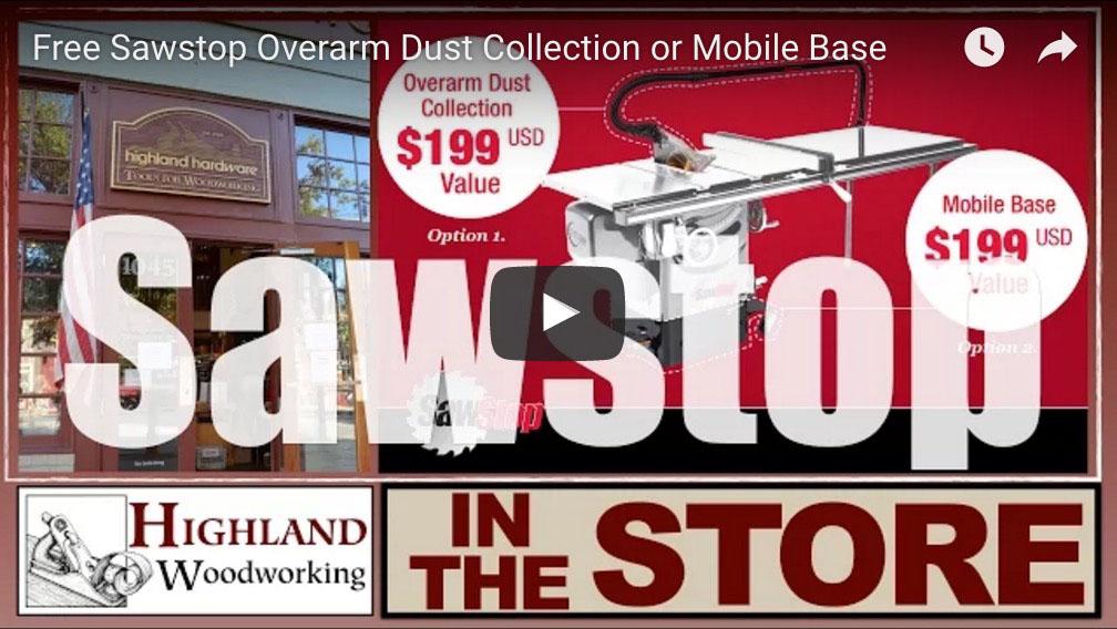 SawStop Rebate