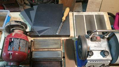 How to Sharpen Woodworking Tools