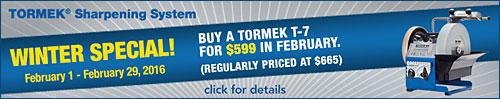 Tormek T-7 SALE
