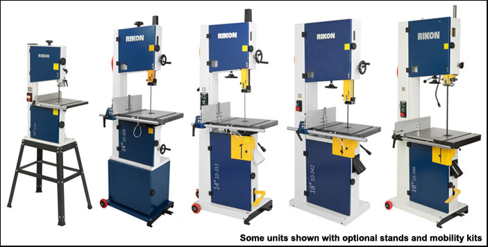 Big Sale on Rikon Bandsaws