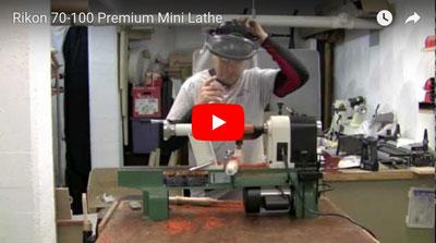 Rikon Mini Lathe Video