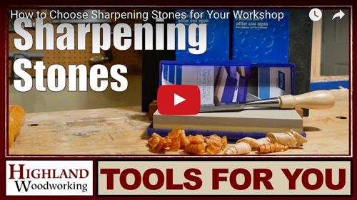 Sharpening stones video