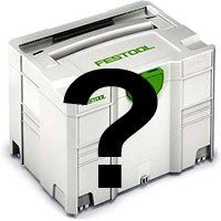 First Festool purchase