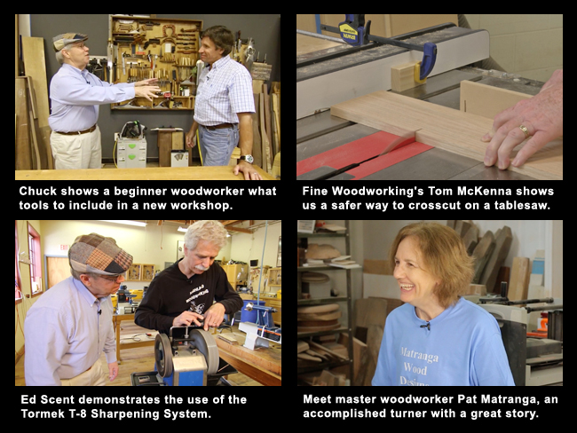 Woodworking Web TV - July 2017