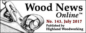 July Wood News banner