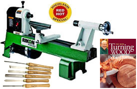 Rikon Lathe Package Deal